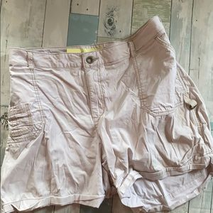 Vintage Fashion Bug Khaki Plus Cargo Shorts
